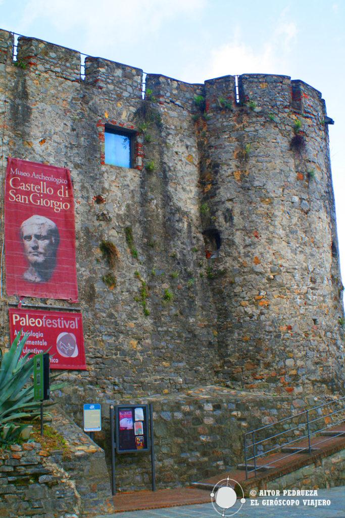 Castillo San Giorgio en La Spezia