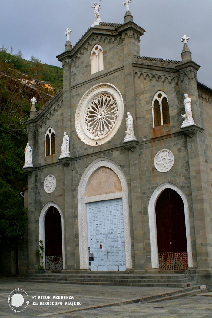 Iglesia San Giovanni Battista en Riomaggiore