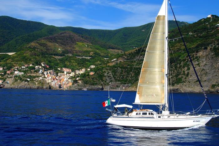 Excursión en barco por Cinque Terre
