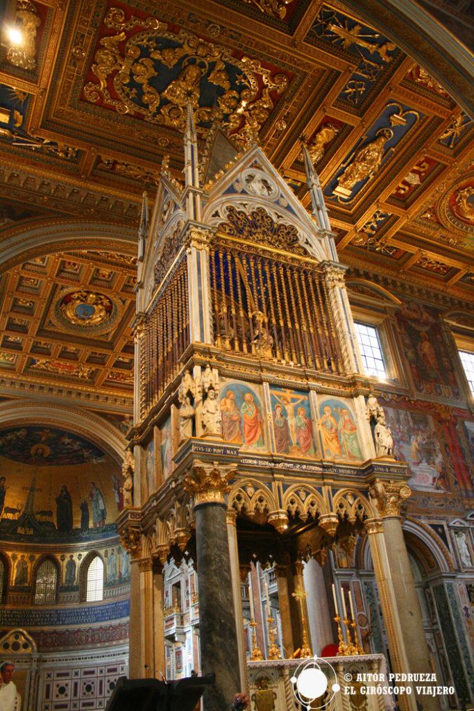Baldaquino de San Giovanni Laterano