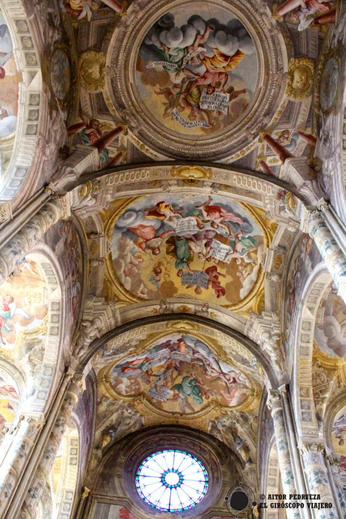 Interior de la Catedral de Asti