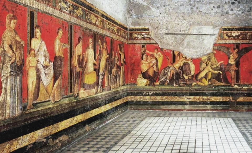 Villa de los Misterios de Pompeya
