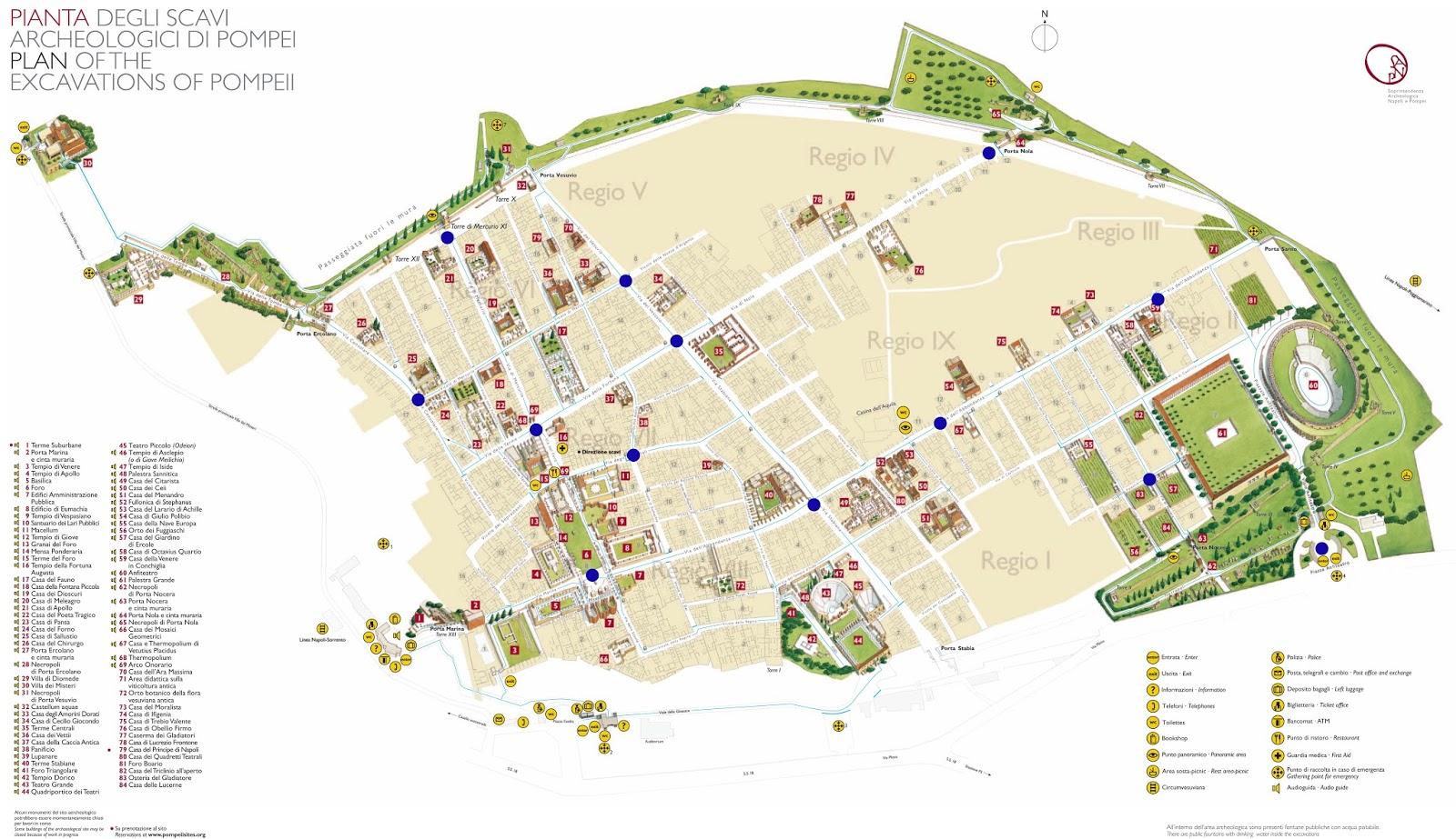 mapa_pompeya_italia   Guía Blog Italia